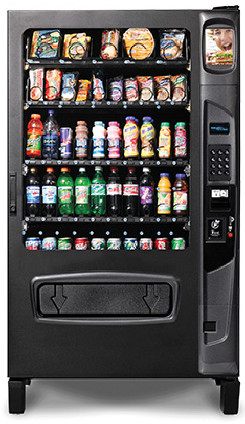 SZ5W Chill Center Vending Machine By Federal Machine / Perfect Break Systems
