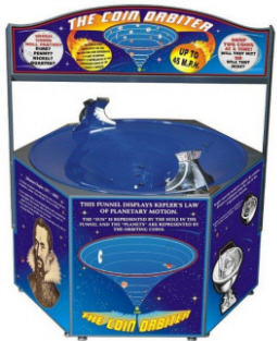 The Coin Orbiter Wishing Well - Coin Funnel Fundraising Machine From Impulse Industries