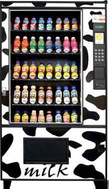 The Milk Machine - Dairy, Yogurt and Milk Vending Machine From AMS