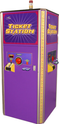 Ticket Station - Ticket Eater - Ticket Redemption Machine From Benchmark Games