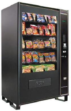 VC1100 Refrigerated Frozen Food Vending Machine From Seaga