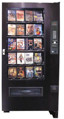 VC3000-DVD / SP432 DVD Movie Vending Machine From Seaga Manufacturing