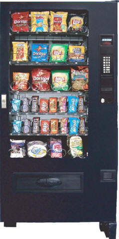 VC3000 / SP432 Candy, Mint and Snack Vending Machine From Seaga