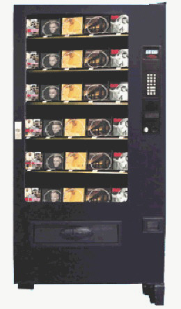 VC3000-CD / SP432 CD Music Software Games Vending Machine From Seaga Manufacturing