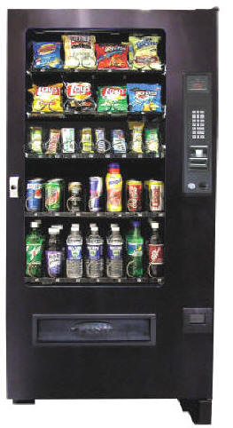VC3500 /  SP430R / WDB980 Refrigerated Soda, Cold Drink and Snack Combo Vending Machine From Seaga