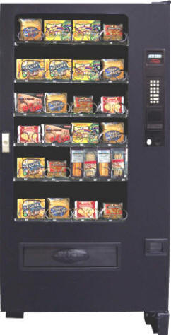 VC3700 / SP426F Refrigerated Cold Food and Microwave Entree Vending Machine From Seaga