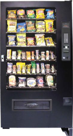 VC5000 / SP540 Refrigerated Snack Vending Machine From Seaga