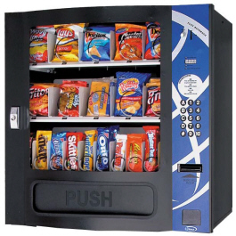VC6305 / HF3000 Elite Series Electronic Snack Vending Machine From Seaga