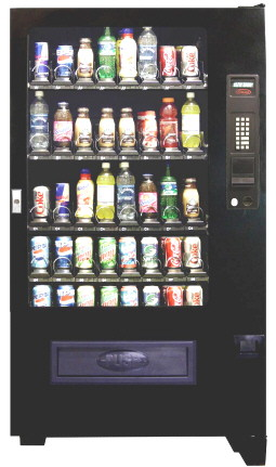 VC8000 / SP840R Refrigerated Soda, Cold Drink and Beverage Center Vending Machine  From Seaga