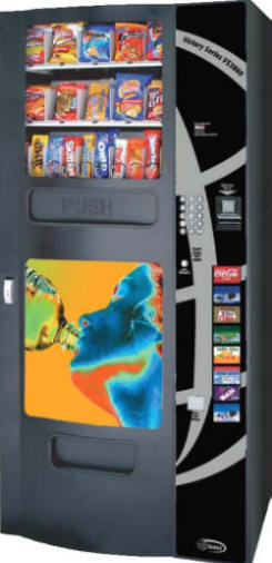 VS3800 Snack, Soda and Cold Drink Beverage Vending Machine From Seaga