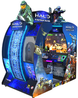 Halo : Fireteam Raven Video Arcade Game From Raw Thrills