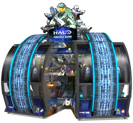 Halo : Fireteam Raven SDLX Video Arcade Game From Raw Thrills