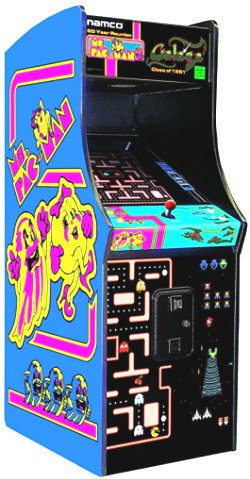 Ms Pac Man / Galaga Class Of 1981 Arcade Home Edition Video Arcade Game - 20th Anniversary - From Namco / Chicago Gaming Company