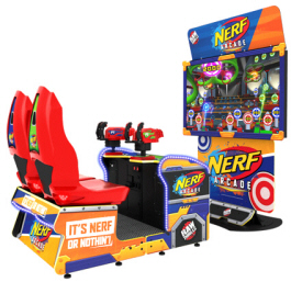 NERF Arcade Video Game From Raw Thrills