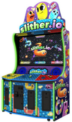 Slither.io Video Arcade Game From Raw Thrills