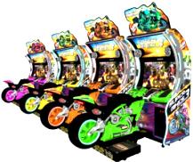 Super Bikes 3 Video Arcade Game From Raw Thrills