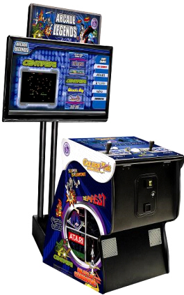 Arcade Legends 3 - 2014 Pedestal Model From Chicago Gaming