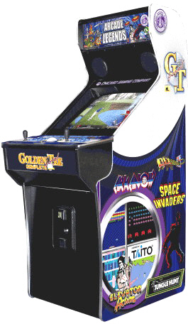 Arcade Legends 3 | Arcade Legend 3 Upright Multi Game Video Arcade Machine By Chicago Gaming