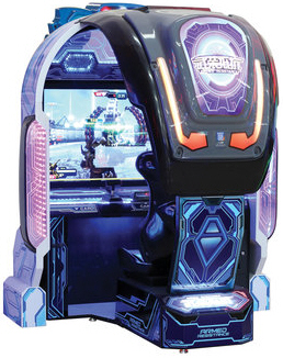 Armed Resistance DLX Video Arcade Game | UNIS
