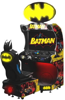 Batman Arcade |  Video Arcade Racing Game From Raw Thrills