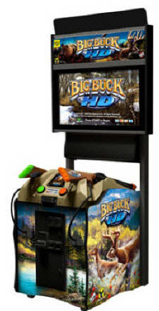 "Big Buck HD Duck Dynasty 32"" Offline / Non-Coin Hunting Video Arcade Game From Raw Thrills"