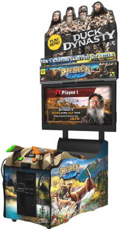 Big Buck HD Duck Dynasty Panorama Online Model Video Arcade Hunting Game