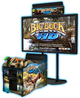 "Big Buck HD SDX / Super Deluxe 80"" Model Video Arcade Game"