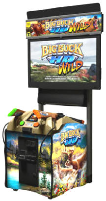 Big Buck HD Wild Video Arcade Hunting Game | Mini Online Model
