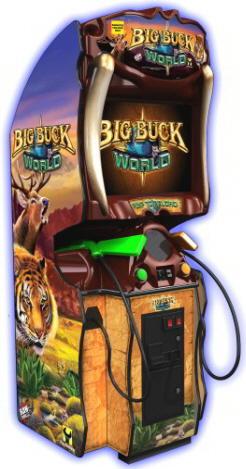 Big Buck World | Upright Model Video Arcade Hunting Game