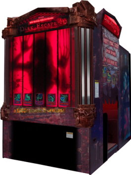 Dark Escape 4D Video Arcade Game From Namco Bandai