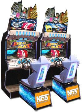 """Dead Heat Street Racing Game 42"""" Model"""