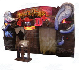 Deadstorm Pirates 4D Motion Theater Game From Namco Bandai