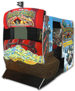 DeadStorm Pirates Video Arcade Game - Dead Storm Super Deluxe SDX Model From Namco