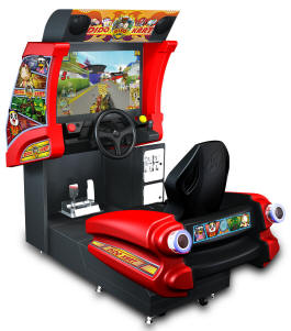 Dido Kart STD-1 / Standard Video Arcade Racing Game From Injoy Motion