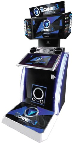 DJ Max Technika 3 Studio - Crew Challenge - Bemani Style Music Rhythm Video Arcade Game From Pentavision