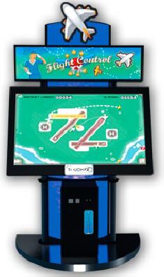 Flight Control FX Touchscreen Video Redemption Game - Adrenaline Amusments