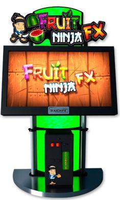 Fruit Ninja FX Touchscreen Video Arcade Game - TouchFX From Adrenaline Amusements