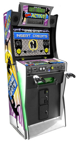 Game Gate VU Get Active / Lets Kinect Coin Operated Xbox Console Machine From BMIGaming.com