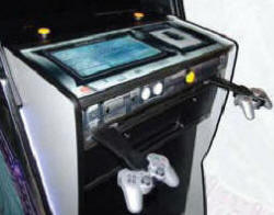 Game Gate Video Arcade Game / Coin Operated Xbox 360 / Playstation 3 Console Arcade Machine / Internet Kiosk