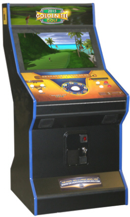 Golden Tee Golf 2015 - FunCo Coin Offline Upright Models