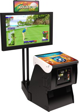 Discontinued Golden Tee Golf 2012 Live Arcade Model