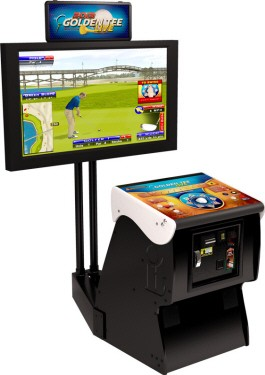 discontinued golden tee golf 2013 live arcade model. Black Bedroom Furniture Sets. Home Design Ideas