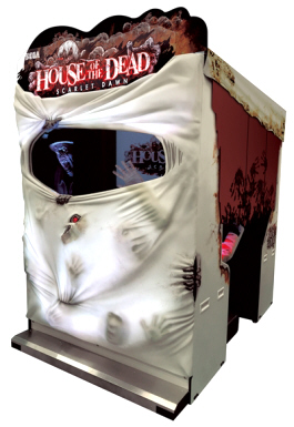 House Of The Dead Scarlet Dawn - Shooting Video Arcade Game - SDX Model - SEGA Amusementser