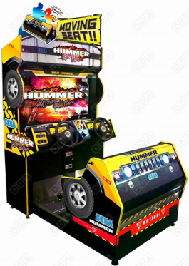 Hummer MDX / Mini Deluxe Video Arcade SUV 4x4 Driving Game From Sega