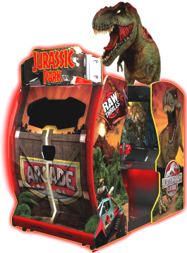 Jurassic Park Arcade Environmental SD Model Video Arcade Game | Raw Thrills