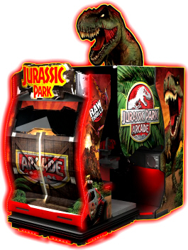 Jurassic Park Arcade Motion Deluxe DX Model Motion Simulator Video Game | Raw Thrills
