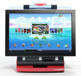 Touchscreen Video Games and Countertop Bar Video Arcade