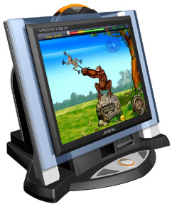 JVL Vortex Countertop Touchscreen Bar Video Game - New Picture