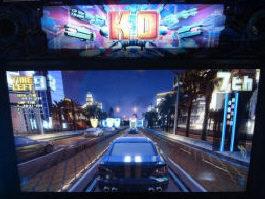 K.O. Drive Video Arcade Racing Game From SEGA - Showpic3