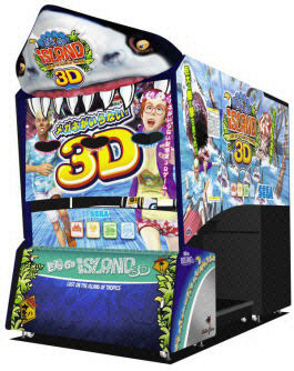 Let?s Go Island 3D - 3D Video Arcade Game Machine
